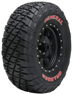 Grabber Red Lettering from General Tire