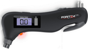 5 In 1 FORTEM Digital Tire Pressure Gauge RPL-16-MPTPG