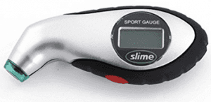 Slime 20017 Digital Tire Gauge 5-150 PSI with Lighted Tip