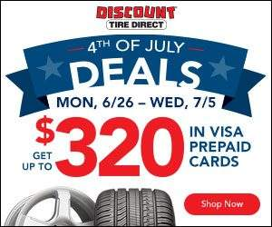 Discount Tire Fourth of July Sale
