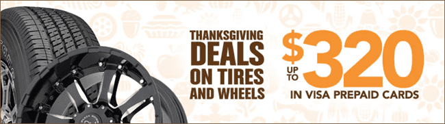 2017 Discount Tire Black Friday - Cyber Monday Sale