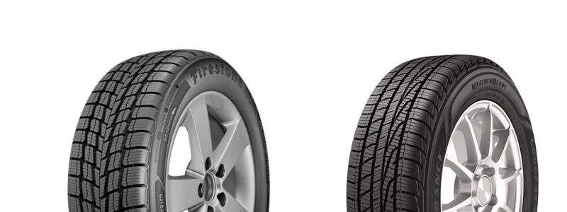 Not all all-season tires are alike, which is why we put two of the best against each other — Firestone WeatherGrip vs. Goodyear Assurance WeatherReady.