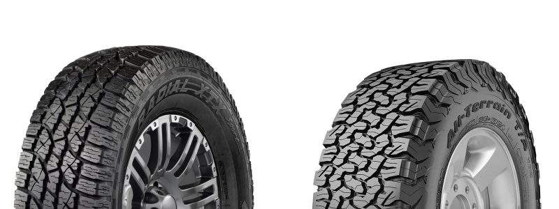 We have carried out extensive research, and two tires that stood out the most to us were the Wild Country Tire XTX Sport and the BFG All-Terrain T/A KO2.