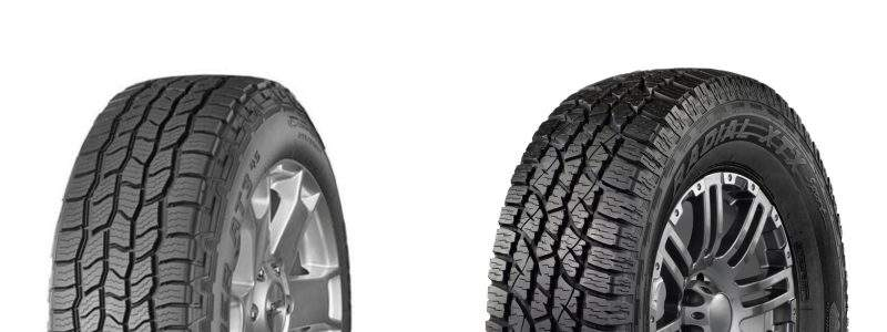 To help you choose a tire like none other – we pinned two of the best tires against each other – the Wild Country XTX Sport vs. Cooper Discoverer A/T3.