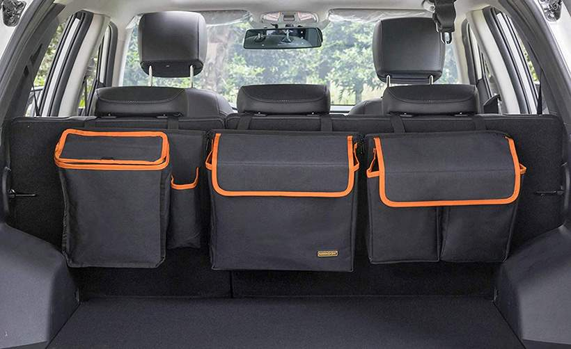 marksign deluxe trunk and backseat organizer
