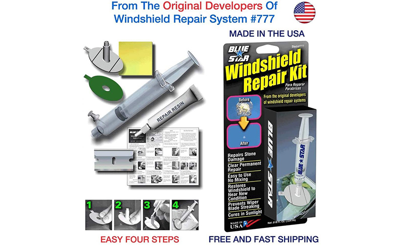 blue star do it yourself windshield repair kit